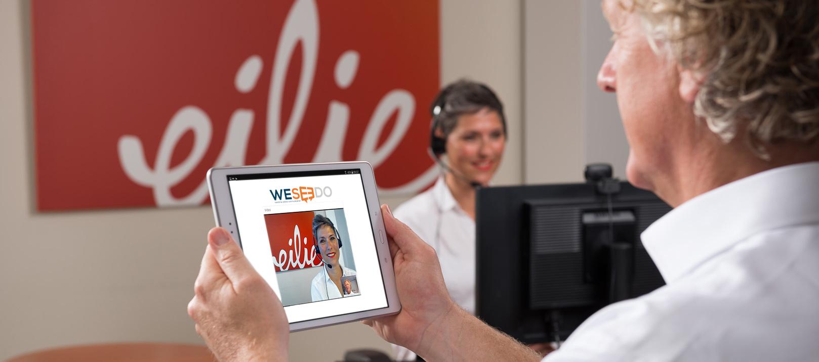 WebRTC oplossingen voor uw webshop. Realtime online video verhoogt online sales.