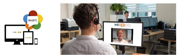 WeSeeDo: WebRTC-oplossing voor webshops advies en support